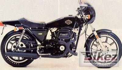 1978 Harley Davidson XLCR 1000 Cafe Racer