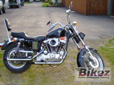 1980 Harley-Davidson XLH 1000 Sportster photo