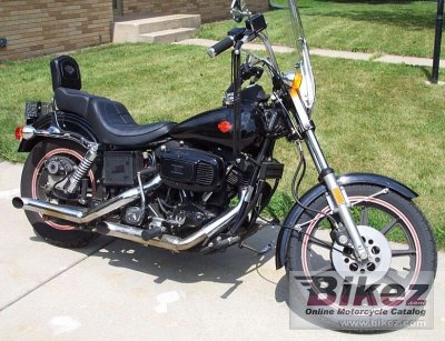 1981 harley davidson fxb 1340 sturgis specifications and for Harley davidson motor credit