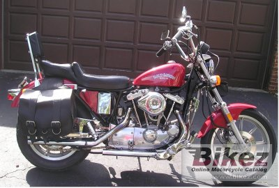 1981 Harley-Davidson XLH 1000 Sportster specifications and pictures