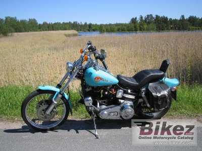 1982 Harley-Davidson FXWG 1340 Wide Glide photo