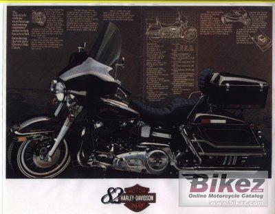 1982 Harley-Davidson FLH 1340 Electra Glide Belt Drive