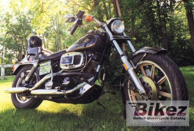 1982 Harley-Davidson FXB 1340 Sturgis specifications and pictures