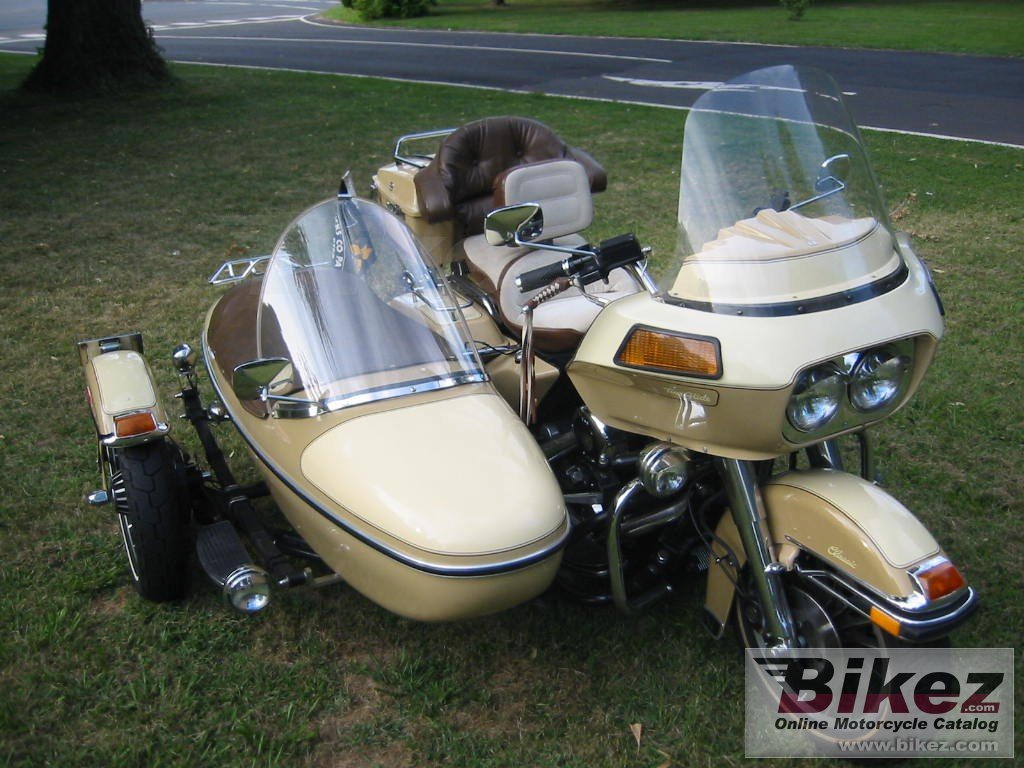 Big  flhtc 1340 (with sidecar) picture and wallpaper from Bikez.com