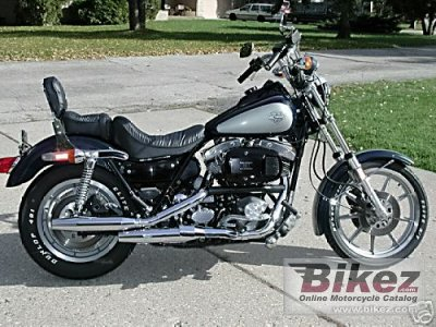 1983 Harley-Davidson FXRS 1340 Low Glide specifications and pictures