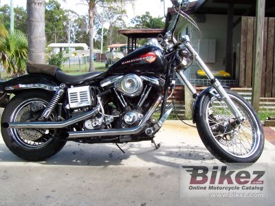 1984 Harley-Davidson FXWG 1340 Wide Glide photo
