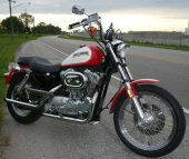 1986 Harley-Davidson XLH Sportster 883 Evolution photo
