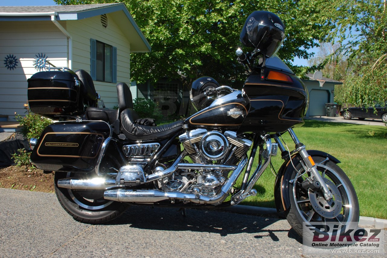 Big  fxrt 1340 sport glide picture and wallpaper from Bikez.com