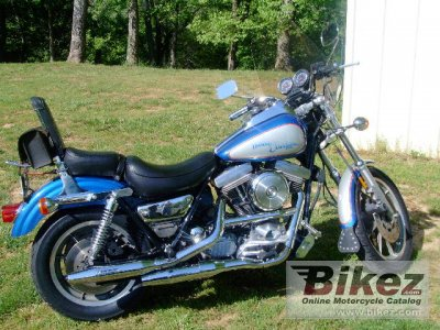 1987 Harley-Davidson FXRS 1340 Low Rider Sport Edition photo