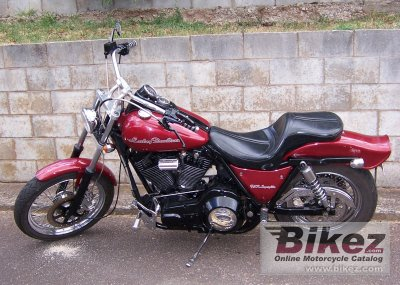 1987 Harley-Davidson FXR 1340 Super Glide photo