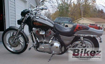 1987 Harley-Davidson FXRS 1340 Low Rider Custom specifications and
