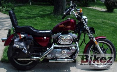 1987 Harley-Davidson XLH Sportster 1100 Evolution specifications and