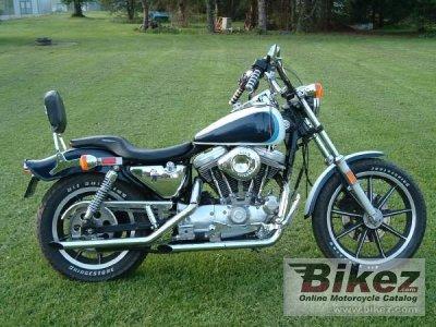 1987 Harley-Davidson XLH Sportster 883 Evolution specifications and
