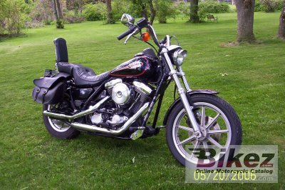1988 Harley-Davidson FXLR 1340 Low Rider Custom photo
