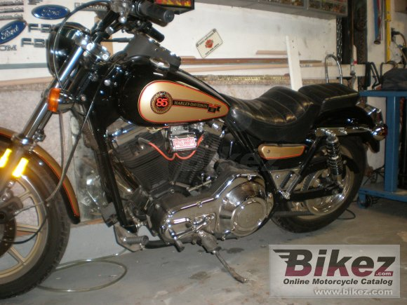 1988 Harley-Davidson FXRS 1340 Low Rider (reduced effect) photo