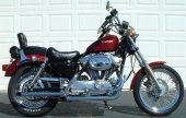 1988 Harley-Davidson XLH Sportster 883 De Luxe (reduced effect) photo