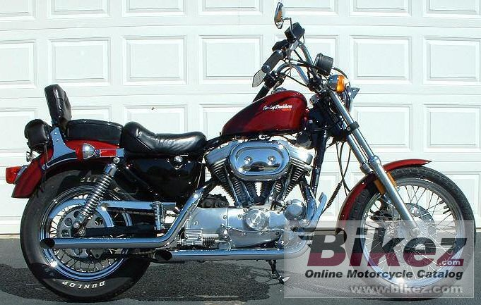 Harley-Davidson XLH Sportster 883 De Luxe (reduced effect)