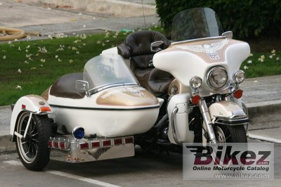 1988 Harley-Davidson FLHTC 1340 (with sidecar) (reduced