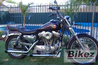 1989 Harley-Davidson XLH Sportster 1200 photo