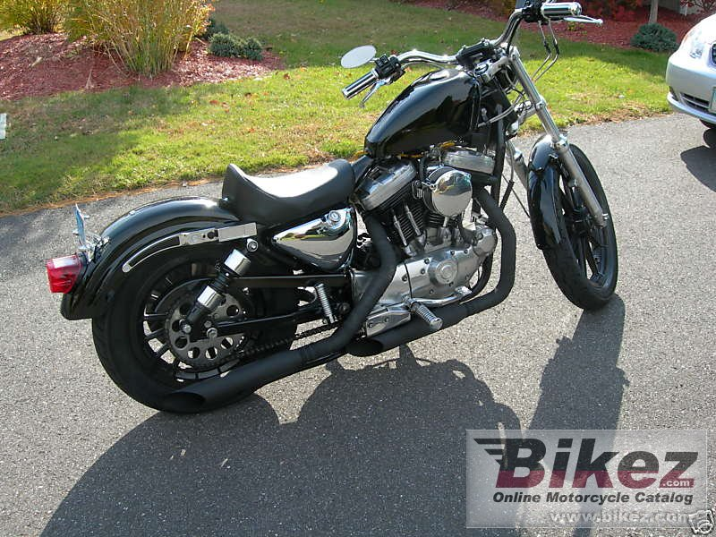 Big  xlh sportster 1200 picture and wallpaper from Bikez.com