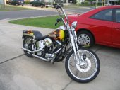 1989 Harley-Davidson 1340 Springer Softail (reduced effect)