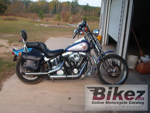 Big  1340 springer softail picture and wallpaper from Bikez.com