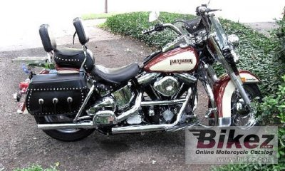 1989 Harley-Davidson FLSTC 1340 Heritage Softail Classic (reduced effect)