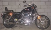 1990 Harley-Davidson XLH Sportster 883 De Luxe photo