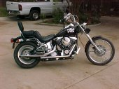 1990 Harley-Davidson FXSTC 1340 Softail Custom photo