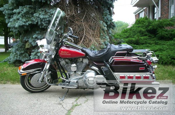 Big Dennis Madison flhs 1340 electra glide sport picture and wallpaper from Bikez.com