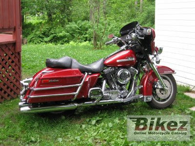 1990 Harley-Davidson FLHTC 1340 Electra Glide Classic (reduced effect)