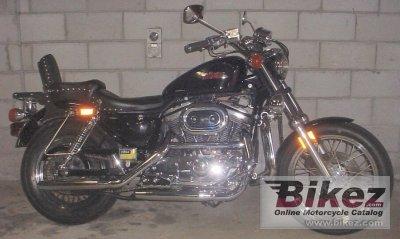 1990 Harley Davidson XLH Sportster 883 De Luxe