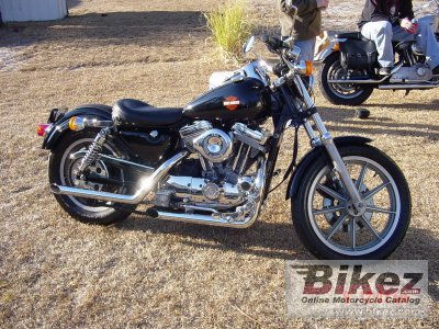 1991 Harley-Davidson XLH Sportster 883 De Luxe photo