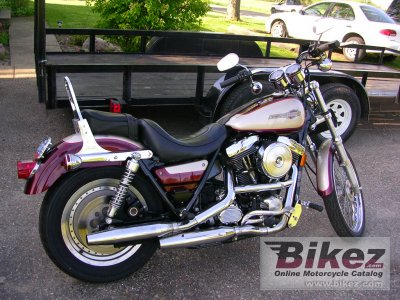 1991 Harley-Davidson FXLR 1340 Low Rider Custom photo