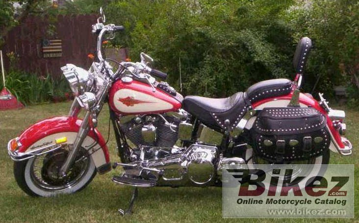 Big JW flstc 1340 heritage softail classic picture and wallpaper from Bikez.com
