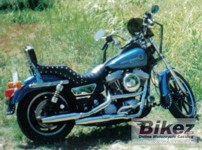 1991 Harley-Davidson FXR 1340 Super Glide specifications and