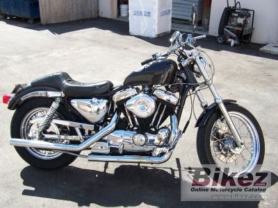 2014 Harley-Davidson 1200 Sportster | Motorcycle Wallpaper