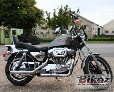 1992 Harley-Davidson XLH Sportster 883 De Luxe photo