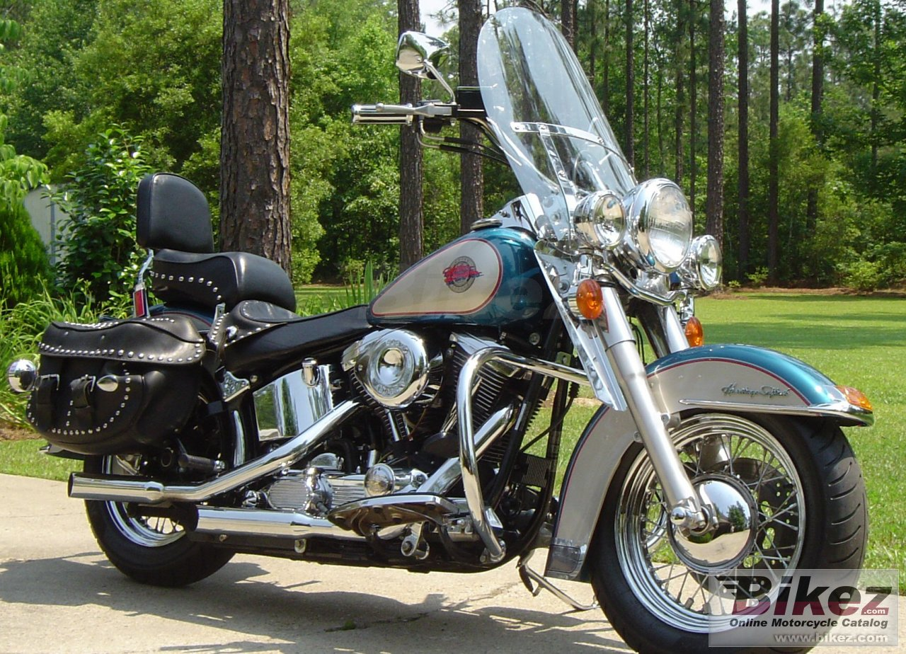 Big nymous user. flstc 1340 heritage softail classic picture and wallpaper from Bikez.com