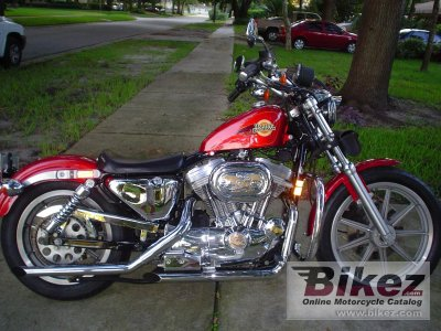 1992 Harley Davidson XLH Sportster 883 Hugger