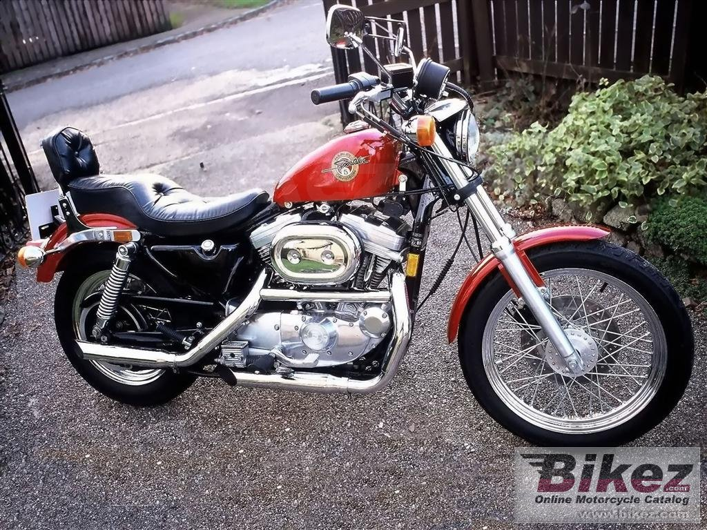 Paul Derek Johnson 883 sportster standard