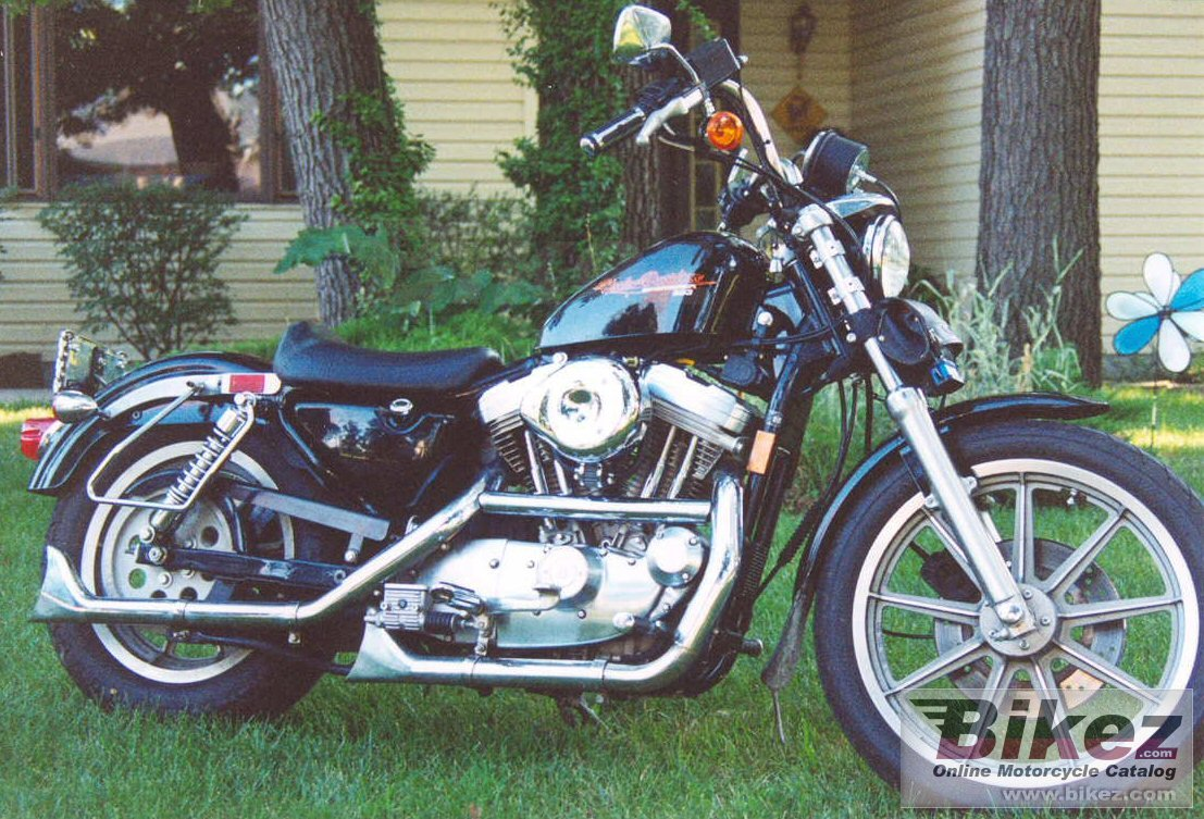 BikerChicks Sporty 883 sportster hugger