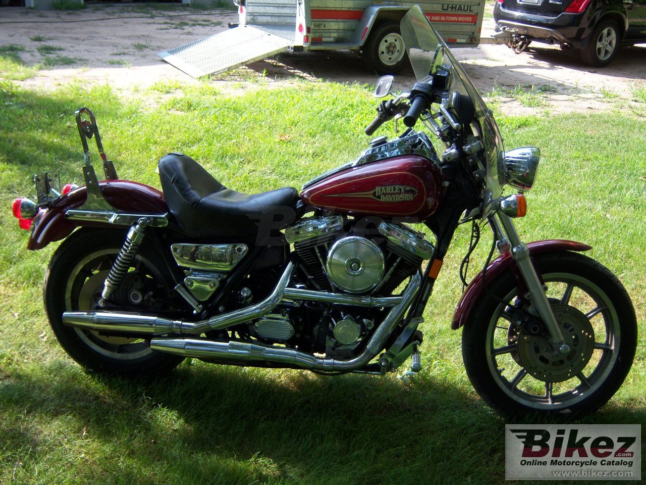 Big  1340 low rider convertible picture and wallpaper from Bikez.com