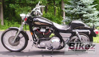 1993 Harley-Davidson 1340 Low Rider Custom photo