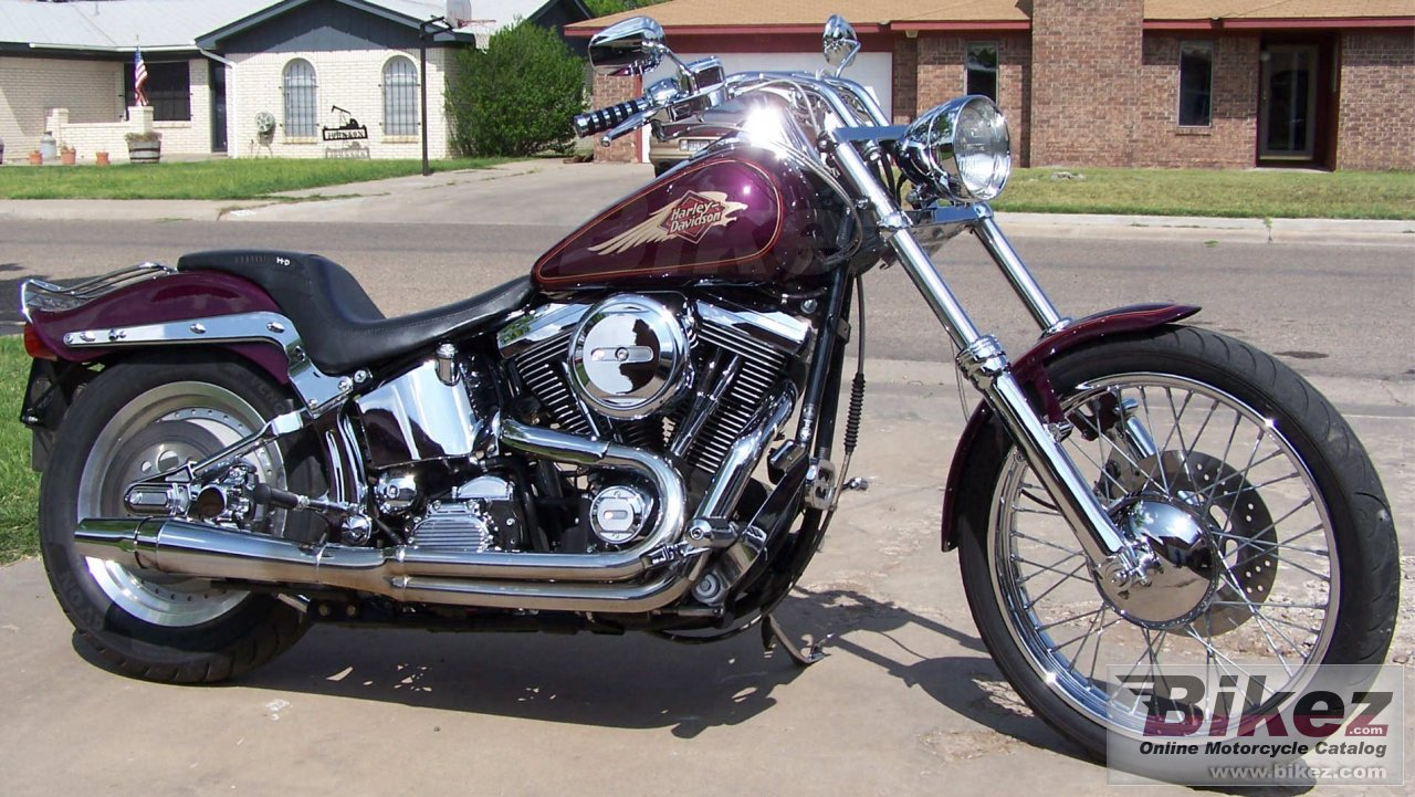 nymous user. 1340 softail custom