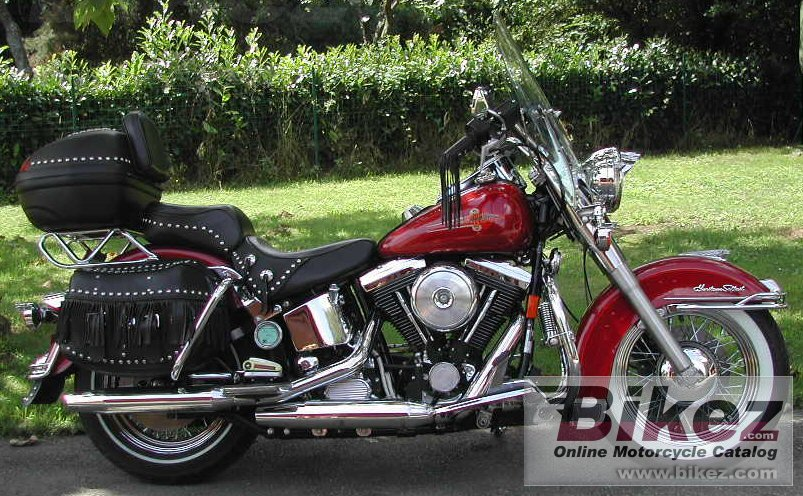 Francis FOURCADE - FRANCE 1340 heritage softail classic