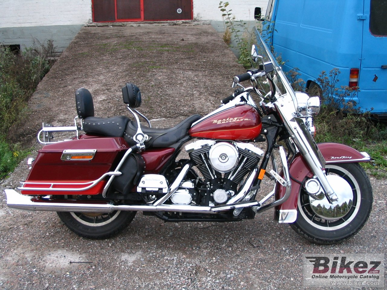 Big nymous user. 1340 electra glide road king picture and wallpaper from Bikez.com