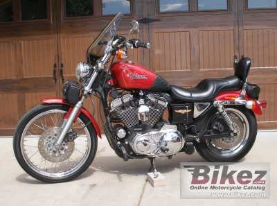 1997 Harley Davidson Sportster 1200 Custom Specifications Pictures Pics