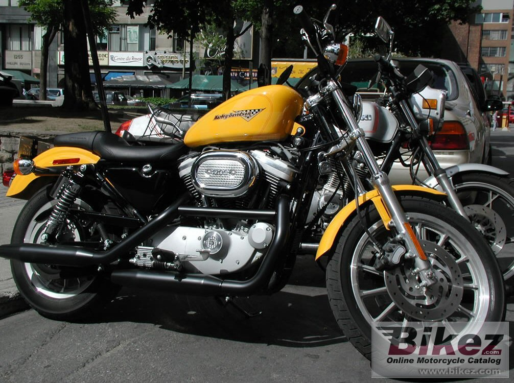nymous user. 1200 sportster sport