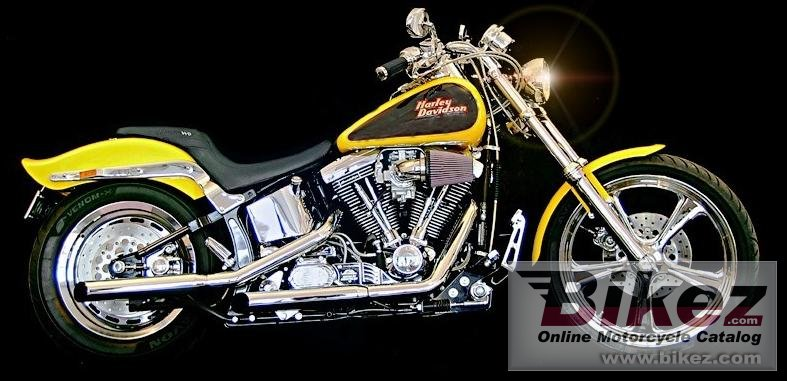 Lonnie Stroble softail standard